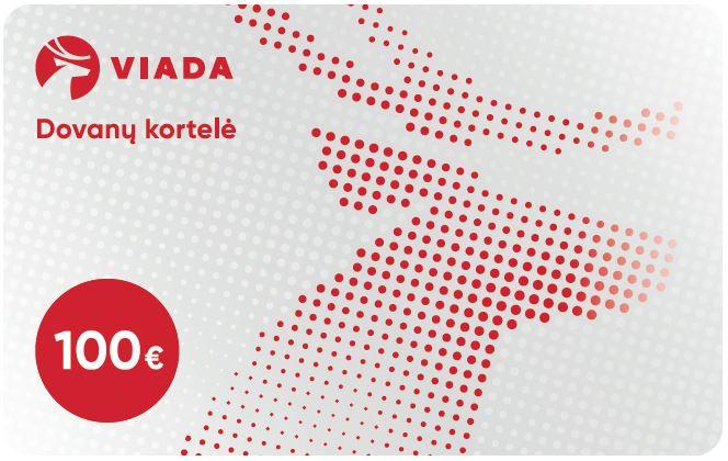 VIADA DOVANŲ KORTELĖ 100 EUR