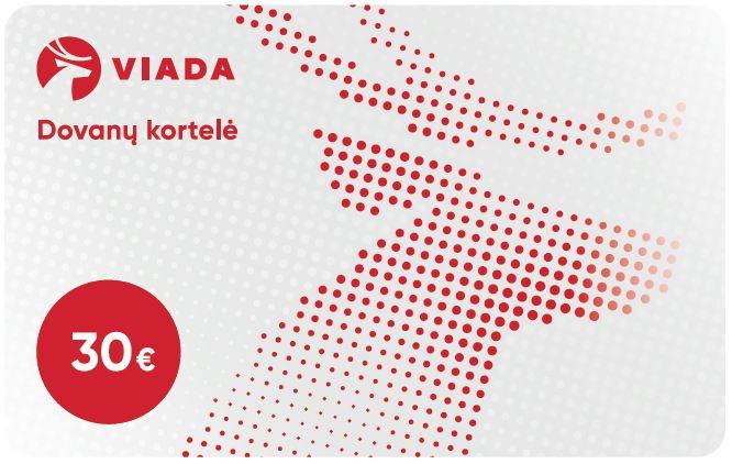 VIADA DOVANŲ KORTELĖ 30 EUR